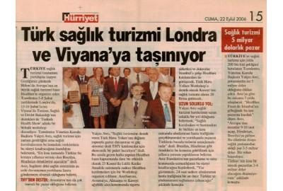 Türk sağlık turizmi Londra ve Viyana'ya taşınıyor.