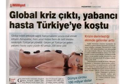 Global kriz çıktı, yabancı hasta Türkiye'ye koştu.