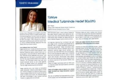 Türkiye medikal turizminde hedef büyüttü.
